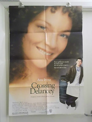 CROSSING DELANCEY 1 one sheet movie poster AMY IRVING PETER RIEGERT 1988 origina