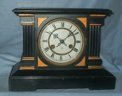 *Antique  'Junghans'  8 Day, Striking Mantel Clock*  - Fully Working