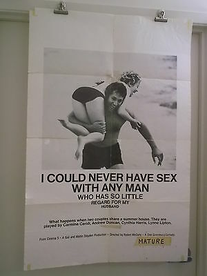I Could Never Hav Sex With Anyman Who Has So Little Regard 0Ne Sheet Movie Poste