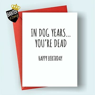 B87 Happy Birthday Greetings Card Rude Funny Adult Cheeky Uncle Auntie Mum Dad