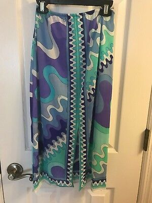 Vintage Emilio Pucci for Formfit Rogers Half Slip Size Small
