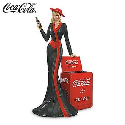 Timeless Tradition Lady Figurine - Coke Beauties of the 1940 Coca Cola