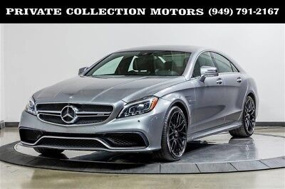 2015 Mercedes-Benz CLS-Class  2015 Mercedes-Benz CLS 63 AMG S-Model 2 Owner Clean Carfax Low Miles