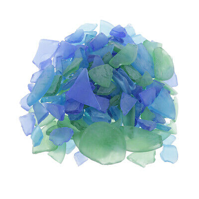 Mixed of Sea Glass, Forsted Glass & Beach Glass - 500g - 1-4cm - Crafts DIY