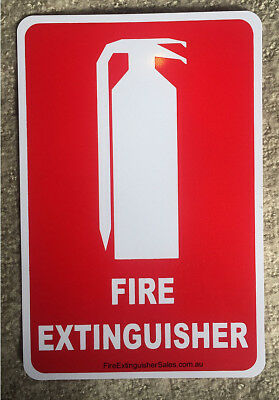 Fire Extinguisher sign standard location sign