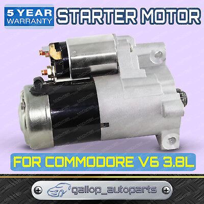 For Holden Commodore Starter Motor VN VP VR VS VT VX VY 3.8L V6 Manual Petrol