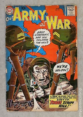 Our Army at War #90 1960 PR 0.5