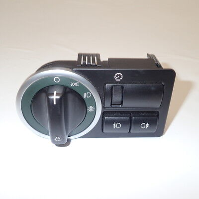 Range Rover L322 Headlight Switch Controls Green Surround YUD500880PUY