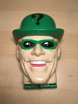 Vintage 1996 DC Comics Joker Head - Polly Pocket/Mighty Max Style Toy Mini Retro