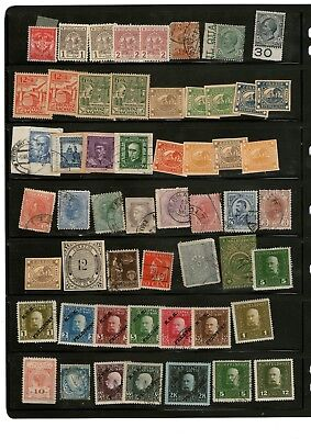 Old Mixed World Stamps