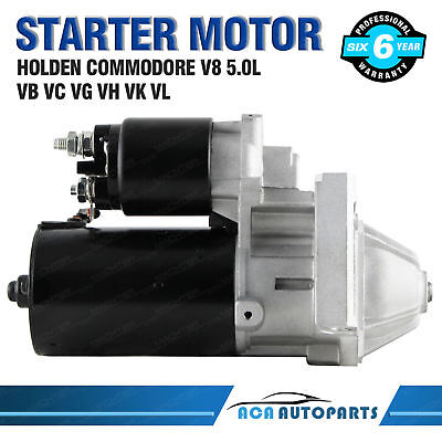 Starter Motor for Holden Commodore 304 308 VN VP VR VS VT V8 5.0L Petrol