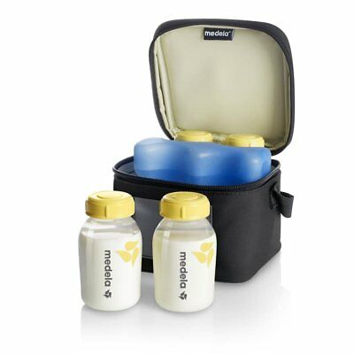 Medela Freestyle Double Electric Breastpump with Calma - White/Yellow