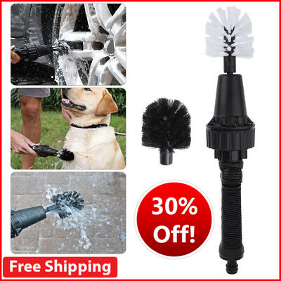 2018 New Wash Brush Premium Water Powered Turbine Hero For Rims, Engines, Bike