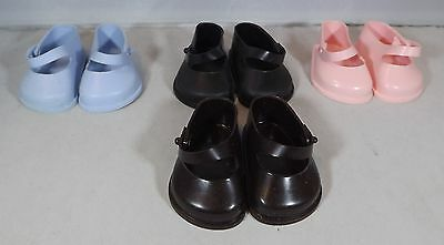 Pair of Cinderella Doll Strap Shoes Size 2 - Various Colours *One Pair Only*