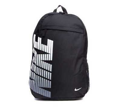 Nike Rucksack Backpack Bag Sports Gym School Black Sports College Mens Boys New