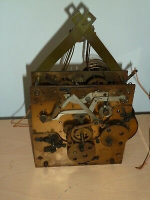 Junghans Westminster Chime B26 wall clock movement for spares