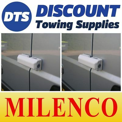 Milenco Van Door High Security Dead Lock X2 Matched Keys Fits Nissan NV200