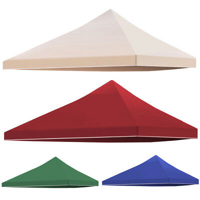 3x3M Gazebo Pavilion Roof Top Cover Fabric Canopy Replacement – Beige/Blue/Wine