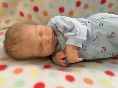 Reborn Baby Doll - Limited Edition - Isabella By Nikki Johnston - Prem