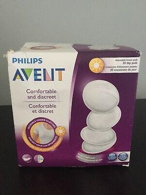 Philips AVENT Disposable Breast Pads Day Ultra Dry Comfortable & Discreet 30 PK