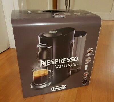 EVN155B - Nespresso DeLonghi Vertuo Plus - NEW AND UNOPENED -