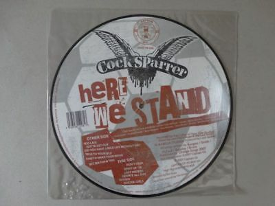 Cock Sparrer - Here We Stand - Captain Oi! Records Punk Vinyl Picture LP - 2007