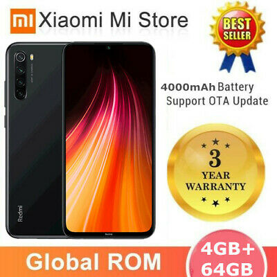 Xiaomi Redmi Note 8 128GB Smartphone CELLULARE Snapdragon 665 8-Core 48MP NUOVO