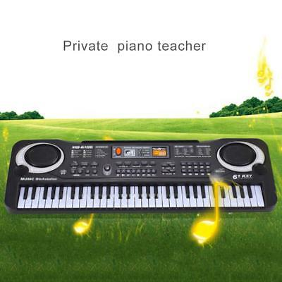 Digital 61 Keys Music Electronic Keyboard Key Board Electric Piano for Child Kid