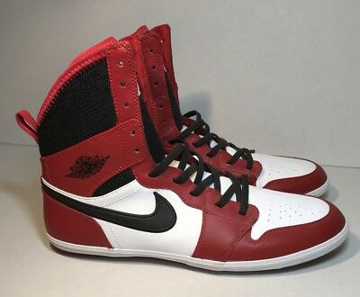 Nike Air Jordan 1 Skinny High Red Black White Chicago Size UK6 US6.5Y Eu39 283956ab45a5