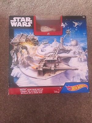 Hot Wheels Star Wars Starship Battle of Geonosis Play Set Action- & Spielfiguren CGN36 Asst CGN33
