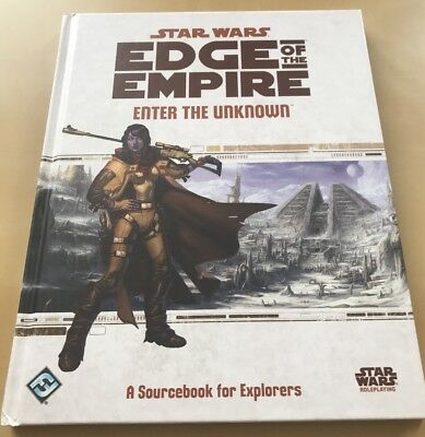 "Star Wars: Edge of the Empire RPG ""Enter The Unknown"" (2013) FFG"