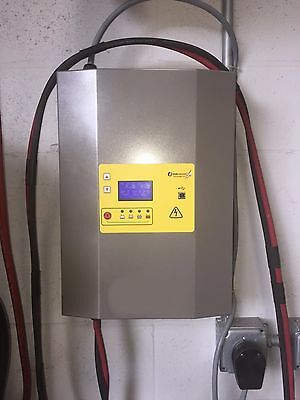 48 VOLT SINGLE PHASE FORKLIFT CHARGER 220/240 90Amps