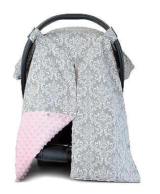 Kids N' Such Nursing Cover Up and Carseat Canopy with Peekaboo Opening Pink
