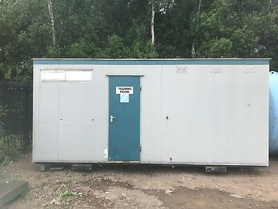 Portable Cabin Office And Toilet 12' X 18'