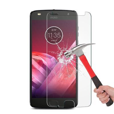 2x Real Tempered Glass Screen Protector Film For Motorola  Moto Z Z2 G4 Play G3