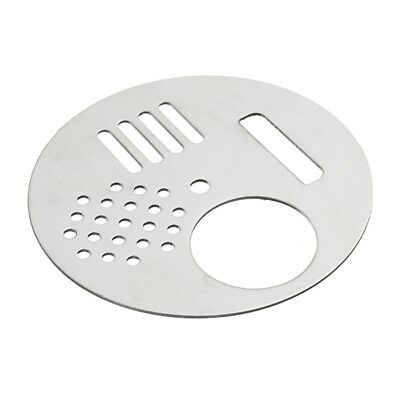 Stainless Steel Beekeeper Disc Entrance Silver Bee Hive Box Entrance 68mm
