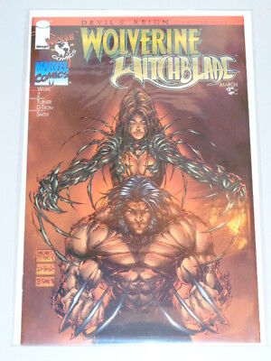 Devils Reign #5 Wolverine Witchblade Marvel Image Top Cow March 1997 Nm (9.4)
