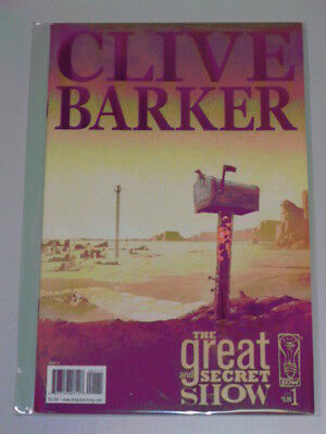 Great And Secret Show #1 Idw Comics Clive Barker March 2006 Nm (9.4)