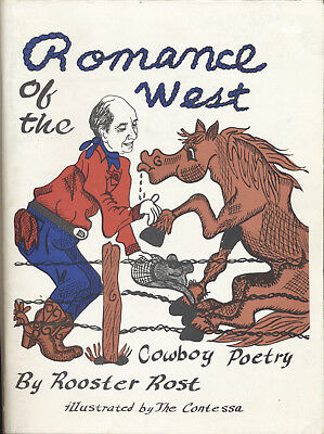 Romance of the West Rooster Rost Americana Art Cowboys 1990