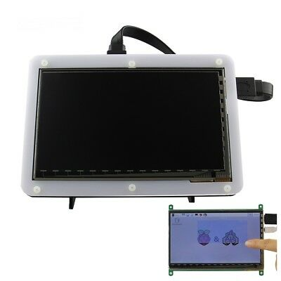 7 Inch 800x480 TFT LCD HD Capacitive Touch Display With Acrylic Stander Bracket