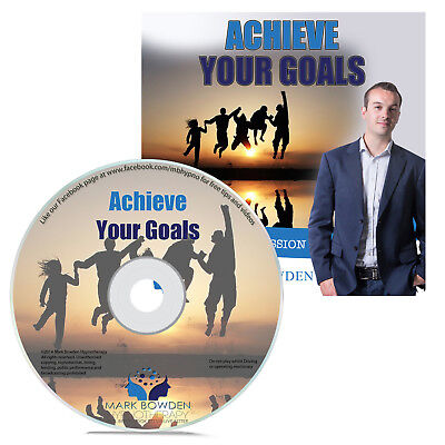 Achieve Your Goals Self Hypnosis CD Overcome Obstacles & Finally Succeed