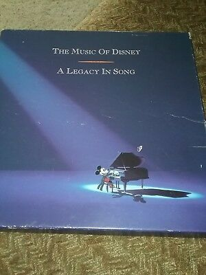 The Music of Disney—A Legacy in Song (3-CD set with 60-page full-color book)