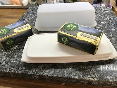 Vintage Tupperware, large size Butter Dish