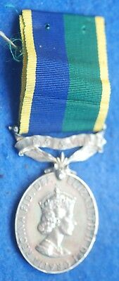 Original Boxed Efficiency Medal with T & AVR Suspender - J Collier