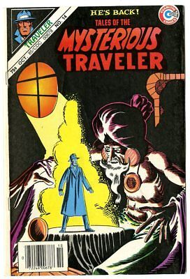 Tales of the Mysterious Traveler #14 VF+ 8.5 white pages  Charlton 1985  No Resv