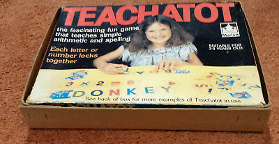 Vintage Murfett Teachatot Educational Teaching Maths/spelling Game