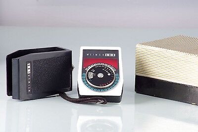 Fotometro Light Meter Cds Weimar Lux Excellent Made In Germany Working