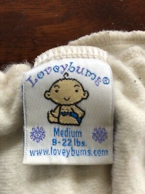 Loveybums Wool Diaper Cover M