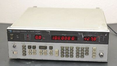 HP/Agilent 8656A Signal Generator 0.1 - 990 MHz | Tested for Power
