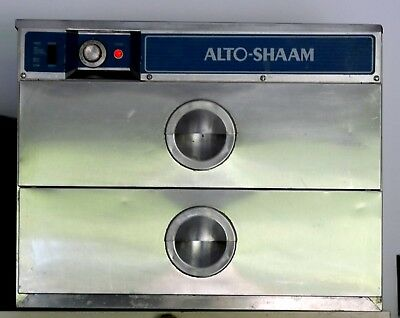 Alto-Shaam 500-2D Two Drawer Warmer - 125 Volts - 500W and 1000W - Works Well